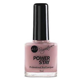 ASP Power Stay Professional Nail Lacquer - Sugar Pink