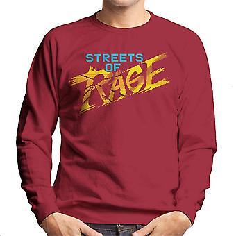 Sega Streets Of Rage Gold Logo Men's Sweatshirt
