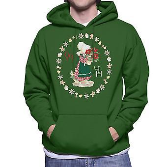 Holly Hobbie Christmas Joy Men's Hooded Sweatshirt
