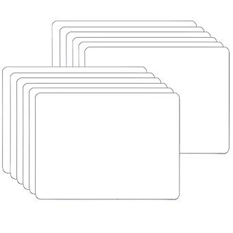 """Dry Erase Board, One-Sided, 5"""" X 7"""", Pack Of 12"""
