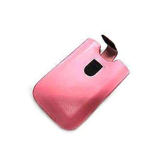 Pocket Case With Strap For Iphone 3G Pink