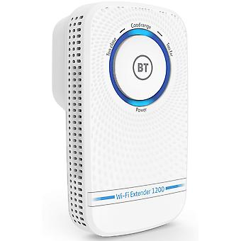 Bt wi-fi extender 1200 with 11ac 1200 dual-band wi-fi 11ac dual-band wi-fi extender 1200