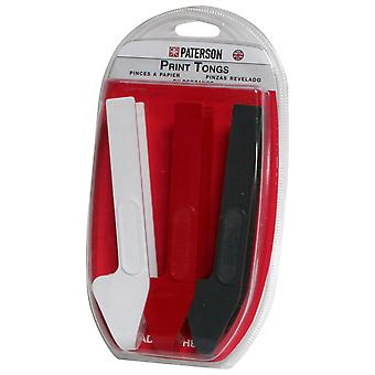 Paterson ptp341 – clamps for copies, pack of 3 units (white, red and black)