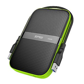 Silicon power 1 tb external portable hard drive rugged armor a60 shockproof water-resistant 2.5 inch
