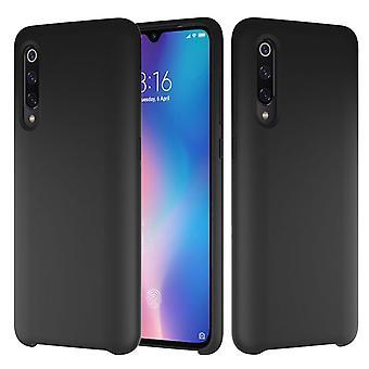 Silikonikotelo Xiaomi Mi 9: lle - musta