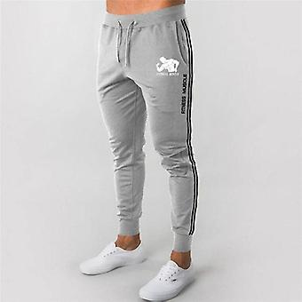 Masculino's Run Sports Pants, Sportswear Bottoms Skinny Pants Gym Fitness