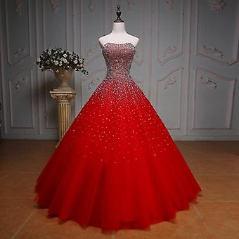Bling Margele Paiete Rochie sweetheart