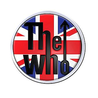 اتحاد منظمة الصحة العالمية جاك الكلاسيكية شعار الفرقة الرسمية lapel دبوس شارة