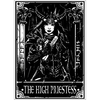Deadly Tarot Mini The High Priestess Poster