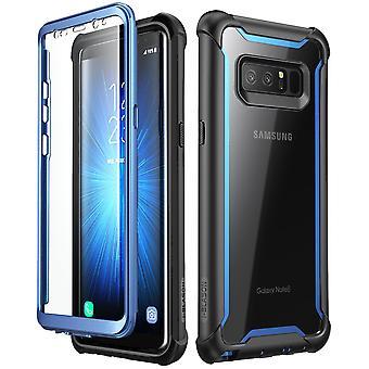 Caso I-Blason Galaxy Note 8 Ares Clear Bumper Case-Black/Green