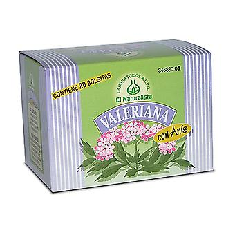 Valerian with anise 20 infusion bags of 1.6g