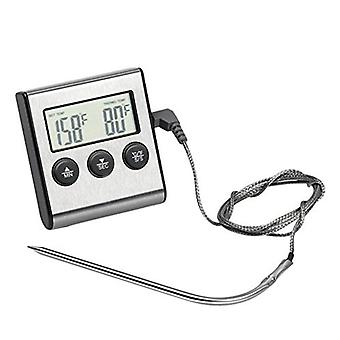 Digital Oven, Kitchen Food, Meat Thermometer With Timer Water Milk, Temperature