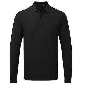 Premier Unisex Erwachsene HeiQ Viroblock langarm Polo Shirt