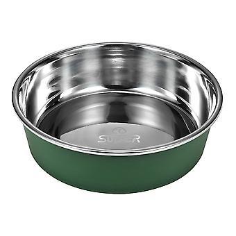 Miska do karmienia i picia dla psów lub kotów | Okrągły z dnem PP (duży)
