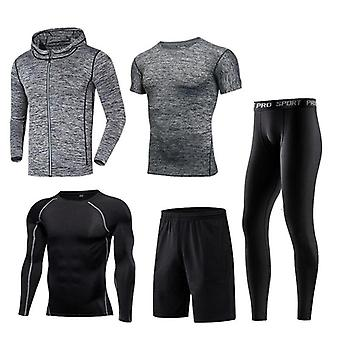 Men Sportswear Compression Sport Suits