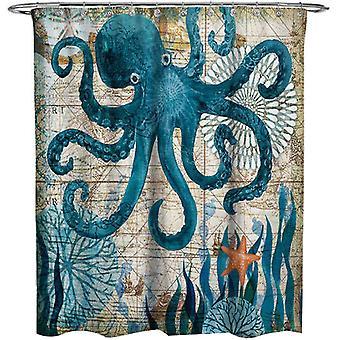 Octopus Shower Curtains 180x180cm