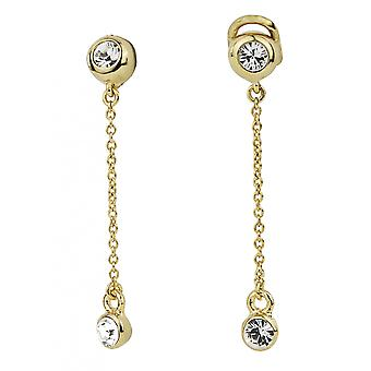 Traveller Drop clip earrings Gold plated - 157397