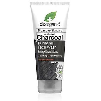 Dr. Organic Activated Charcoal Facial Cleanser 200 ml