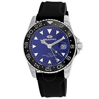 Seapro Agent Quartz Blue Dial Men's Watch SP0125B