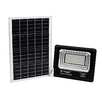 V-tac VT-40W Foco solar con panel solar - 1050 Lm - 4000K - Negro