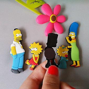 Homer Simpson Cartoon kreative Kühlschrank Magnet Aufkleber