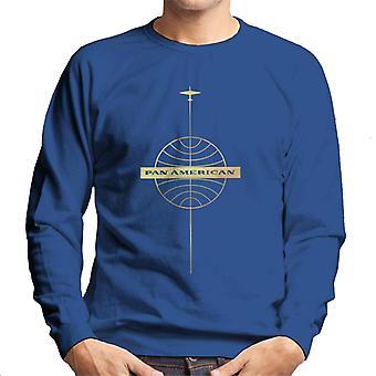 Pan Am Logo Gold Foil Men's Sweatshirt