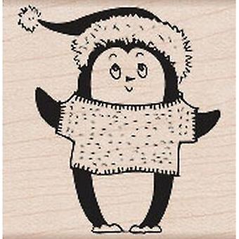 Hero Arts Christmas Penguin Rubber Stamp
