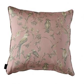 kissen Lyon 60 x 60 cm Polyester rosa