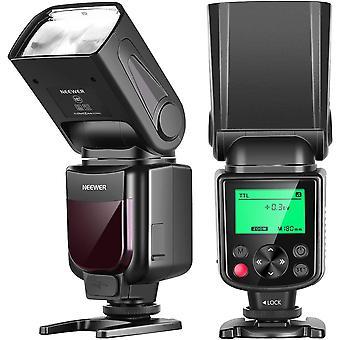 HanFei NW-670 TTL Flash Blitz Blitzgert mit LCD-Anzeige fr Canon 7D Marke II,5D Marke II