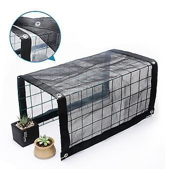 Sunshade Rainproof Awning Heat Preservation And Sunscreen Round Wire Mesh Flower Stand