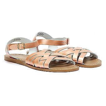 Salt Water Retro Womens Rose Gold Sandals