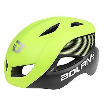 Fahrradhelm Outdoor Sport Radfahren Sicherheitshelm Radfahren 12 Vents, grün