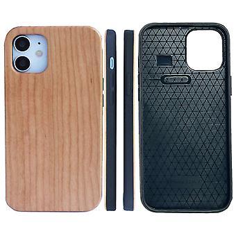 خشبية الحبوب واقية حالة الهاتف لفون 12 برو ماكس