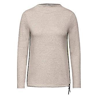 Cecil 315644 T-Shirt, Mocca Brown Melange, S Donna