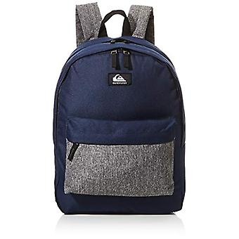 Quiksilver Everyday Poster Double, Men's Backpack, Navy Blazer Heather, One Size
