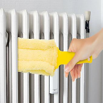 Ashley BB-RD155 Microfibre Radiator Cleaning Duster With Handle, Yellow