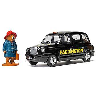London Taxi TX4 with Paddington Bear Figure Diecast Model Car