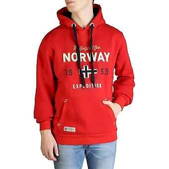 Geographical Norway - Clothing - Sweatshirts - Guitre100-man-red - Men - Red - M
