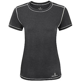 Ronhill Life Tencel Short Sleeved T-Shirt - Black