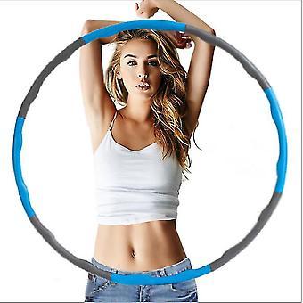 Pesé pliable hula hoop fitness rembourré exercice gym d'entraînement hula hoop az9665