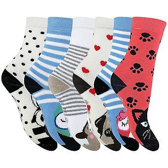 6 Pk gyermek vastag téli termikus papucs zokni
