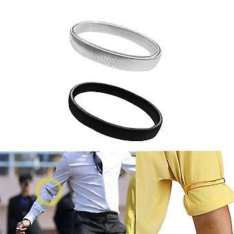 Men Shirt Sleeve Holder Casual Elastic Armband