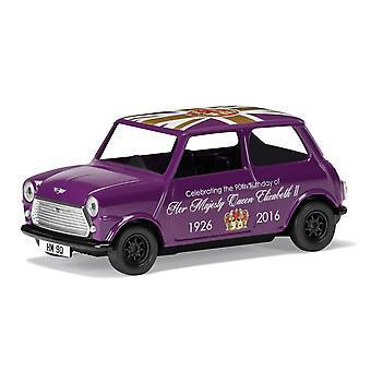 Austin Mini The 90th Birthday of HM QE II Corgi 1:36 Model Car