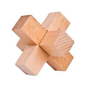 Beech bambu kongming lock brinquedo educacional dt7499