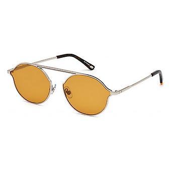 """משקפי שמש יוניסקס משקפי שמש אינטרנט WE0198-16E כסף חום (ø 57 מ""""מ)"""