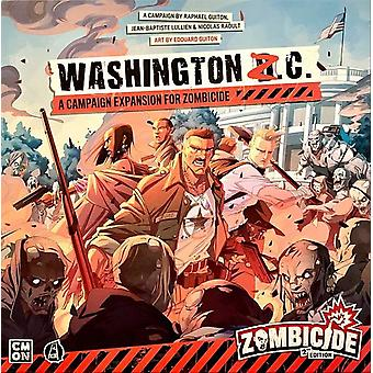 Zombicide 2nd Edition: Washington Z.C. Expansion Board Game