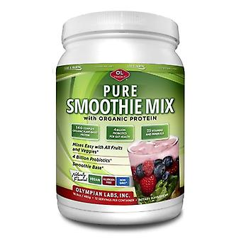 Olympian Labs Pure Smoothie Mix with Organic Protein, 16.9 Oz