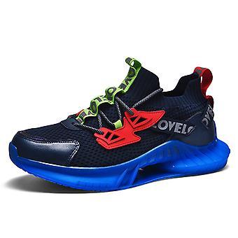 Colorful luminous sneakers 1E2171 BlueBlack