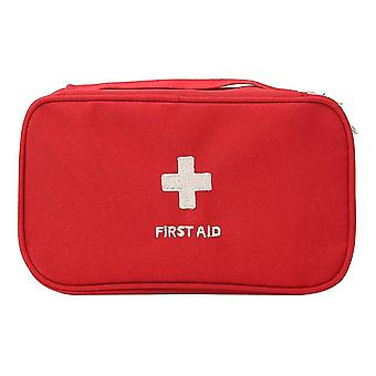 Portable first aid empty kit pouch tote small responder storage bags compact emergency survival
