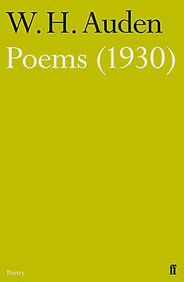 Poems 1930 by W. H. Auden